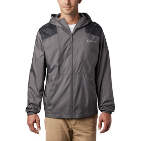 Columbia Flashback Chaqueta Cortavientos Hombre, city grey/black
